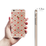 Strawberry Clear Case For iPhone 6/6S Plus
