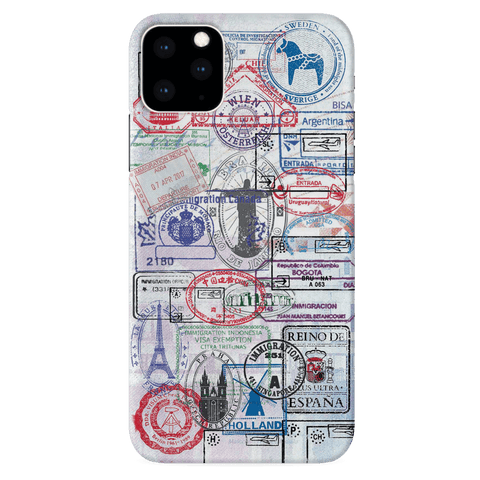Stamp Cover Case for iPhone 11 Pro