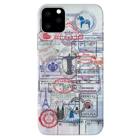 Stamp Cover Case for iPhone 11 Pro Max