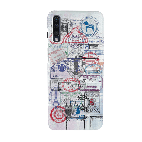 Stamp Cover Case for Samsung Galaxy A70