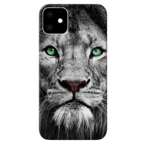 Lion Face Cover Case for iPhone 11