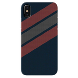 Red Stripes Dots  Cover Case for iPhone XS