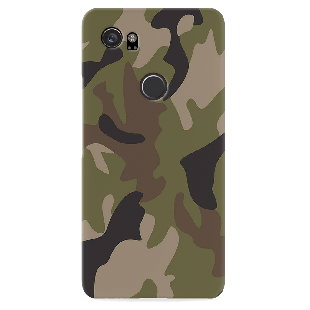release date: 370d7 b7fe6 Army Camo Cover Case For Google Pixel 2 XL