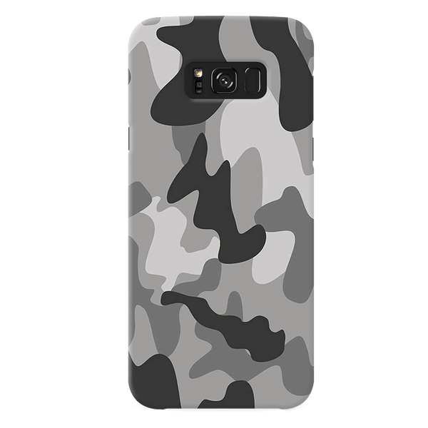 Black Army Camouflage Cover Case For Samsung Galaxy S8 Plus