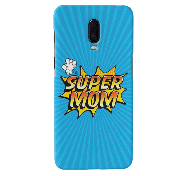 Super Mom Pop Art Cover Case For OnePlus 6T