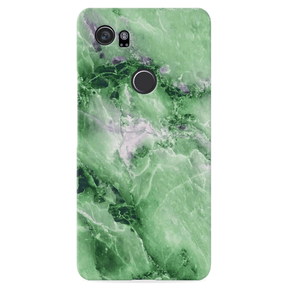 Green Marble Cover Case for Google Pixel 2 Xl