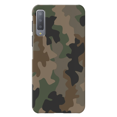Army Abstract Camouflage Cover Case for Samsung Galaxy A7 2018