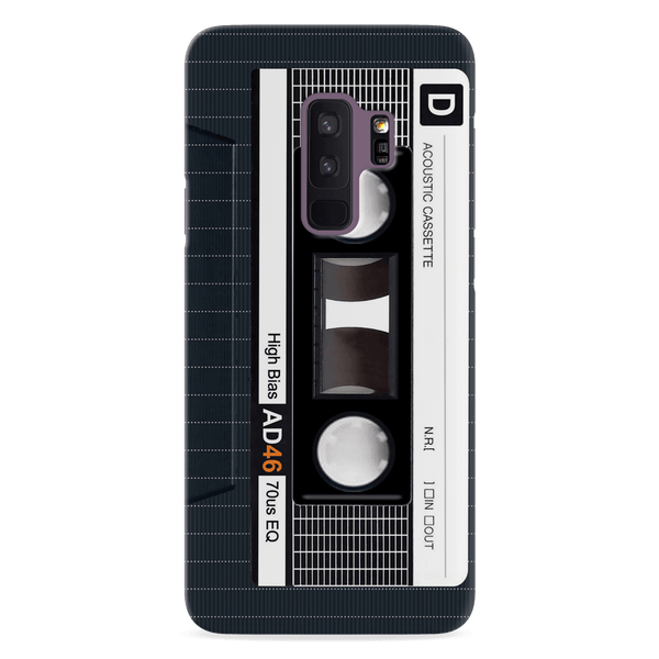Acoustic Cassette Cover Case For Samsung Galaxy S9 Plus