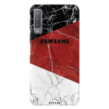 Red Marble Cover Case for Samsung Galaxy A7 2018
