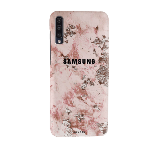 Pink Marble Cover Case for Samsung Galaxy A70