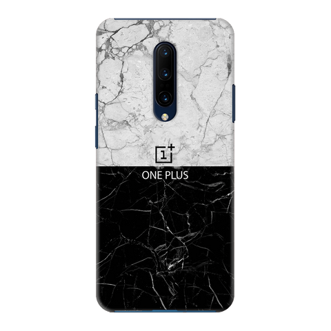 Grey Marble Cover Case for OnePlus 7 Pro