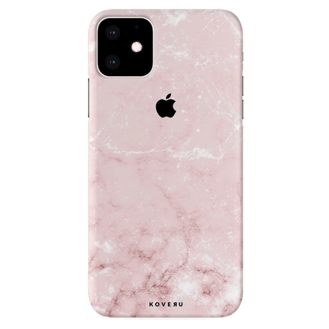 Baby Pink Marble Cover Case for iPhone 11
