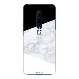 White Marble Cover Case for OnePlus 7 Pro