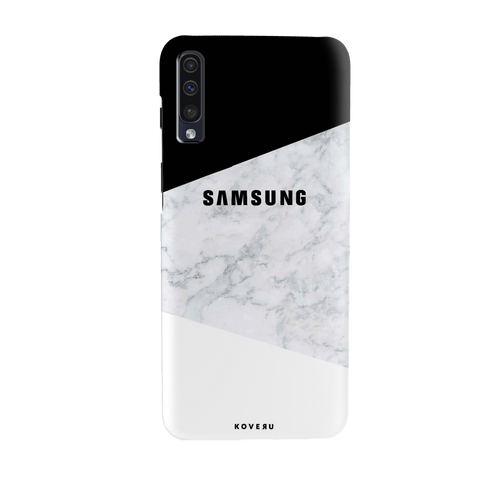 White Marble Cover Case for Samsung Galaxy A70