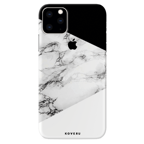 Black and white Marble Cover Case for iPhone 11 Pro