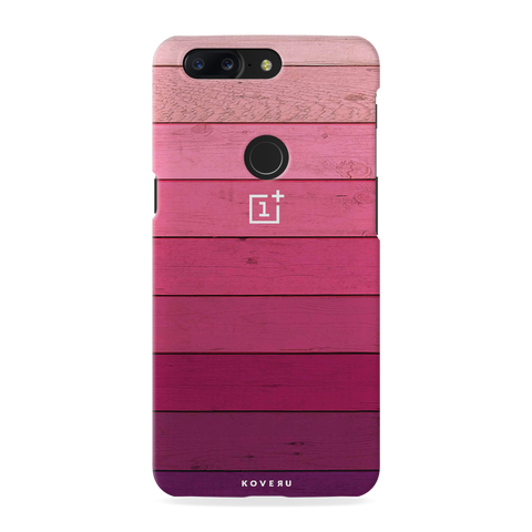 Shades of Pink Love Cover Case For OnePlus 5T