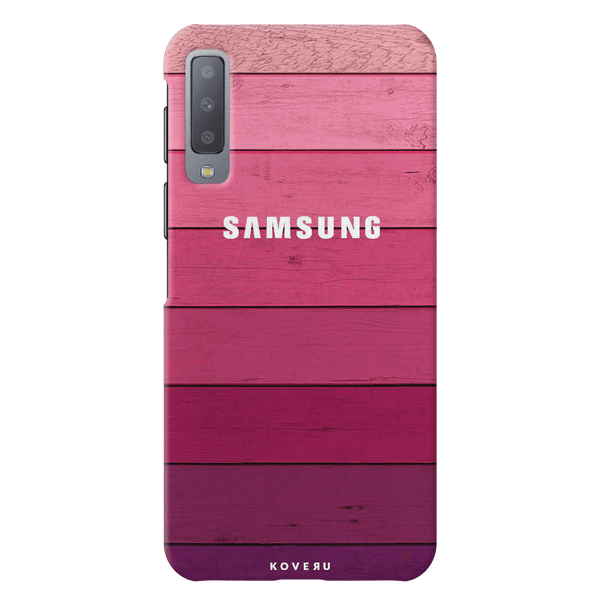 Shades of Pink Love Cover Case for Samsung Galaxy A7 2018