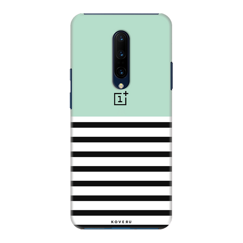 Stripes on Green Cover Case for OnePlus 7 Pro