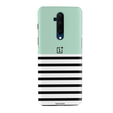 Stripes on Green Cover Case for OnePlus 7T Pro