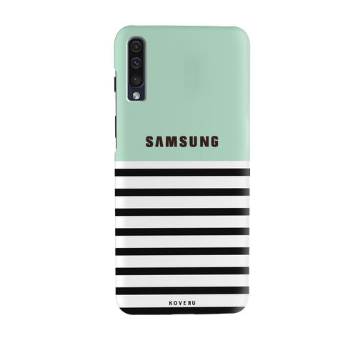Stripes on Green Cover Case for Samsung Galaxy A70