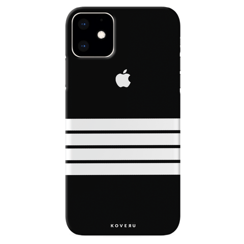 White Stripes Cover Case for iPhone 11