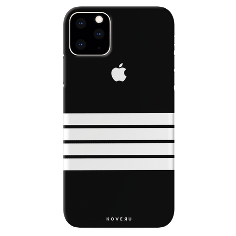 White Stripes Cover Case for iPhone 11 Pro