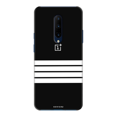 White Stripes Cover Case for OnePlus 7 Pro