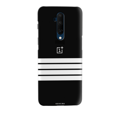 White Stripes Cover Case for OnePlus 7T Pro