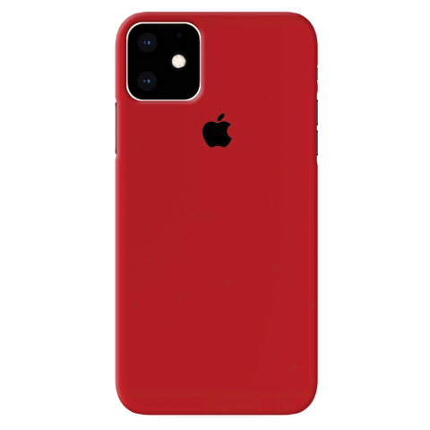 Blood Red Cover Case for iPhone 11