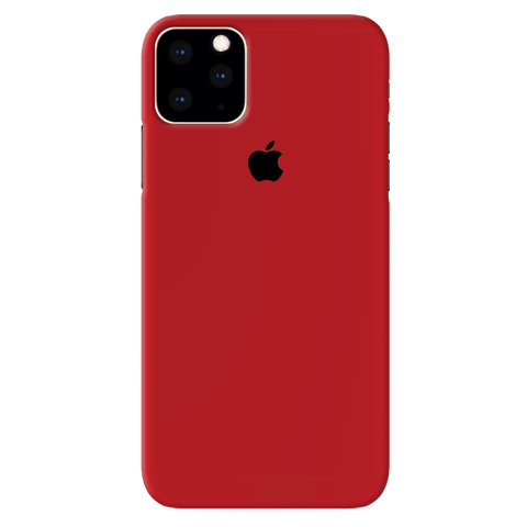 Blood Red Cover Case for iPhone 11 Pro