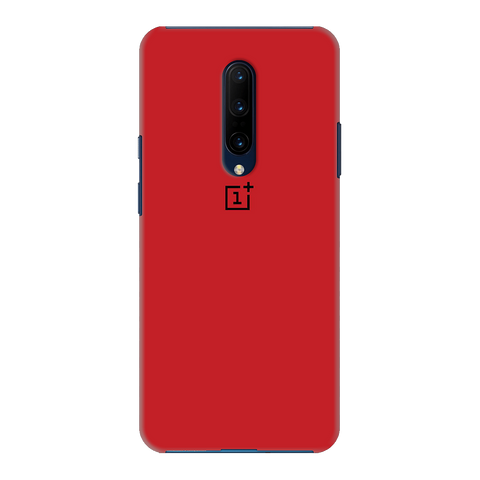 Blood Red Cover Case for OnePlus 7 Pro