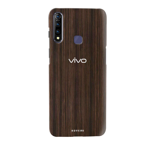 Wooden Texture Cover Case for Vivo Z1 Pro