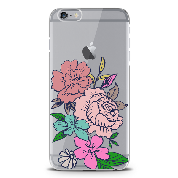Diwali flowers Clear Case for iPhone 6/6S
