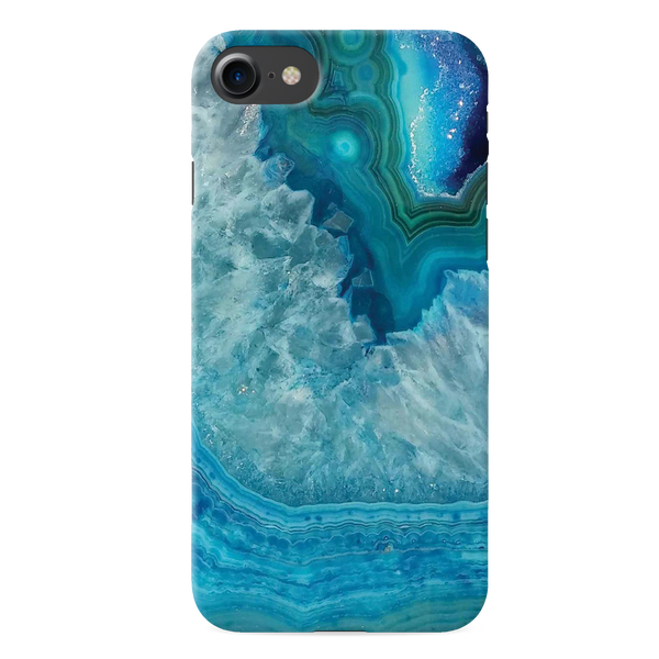 Blue Agate Cover Case for iPhone 7/8