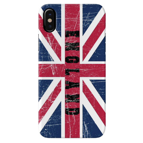 England Cover Case for iPhone XS