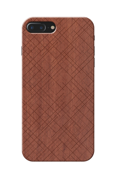 Wooden Pattern Cover case for Iphone 7 plus
