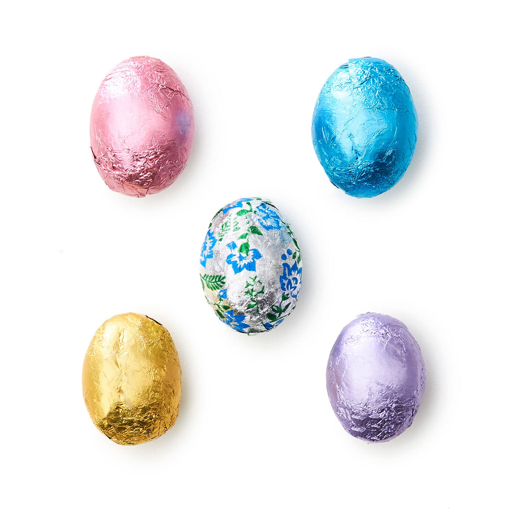 Milk Chocolate Foil Eggs - Medium Bag