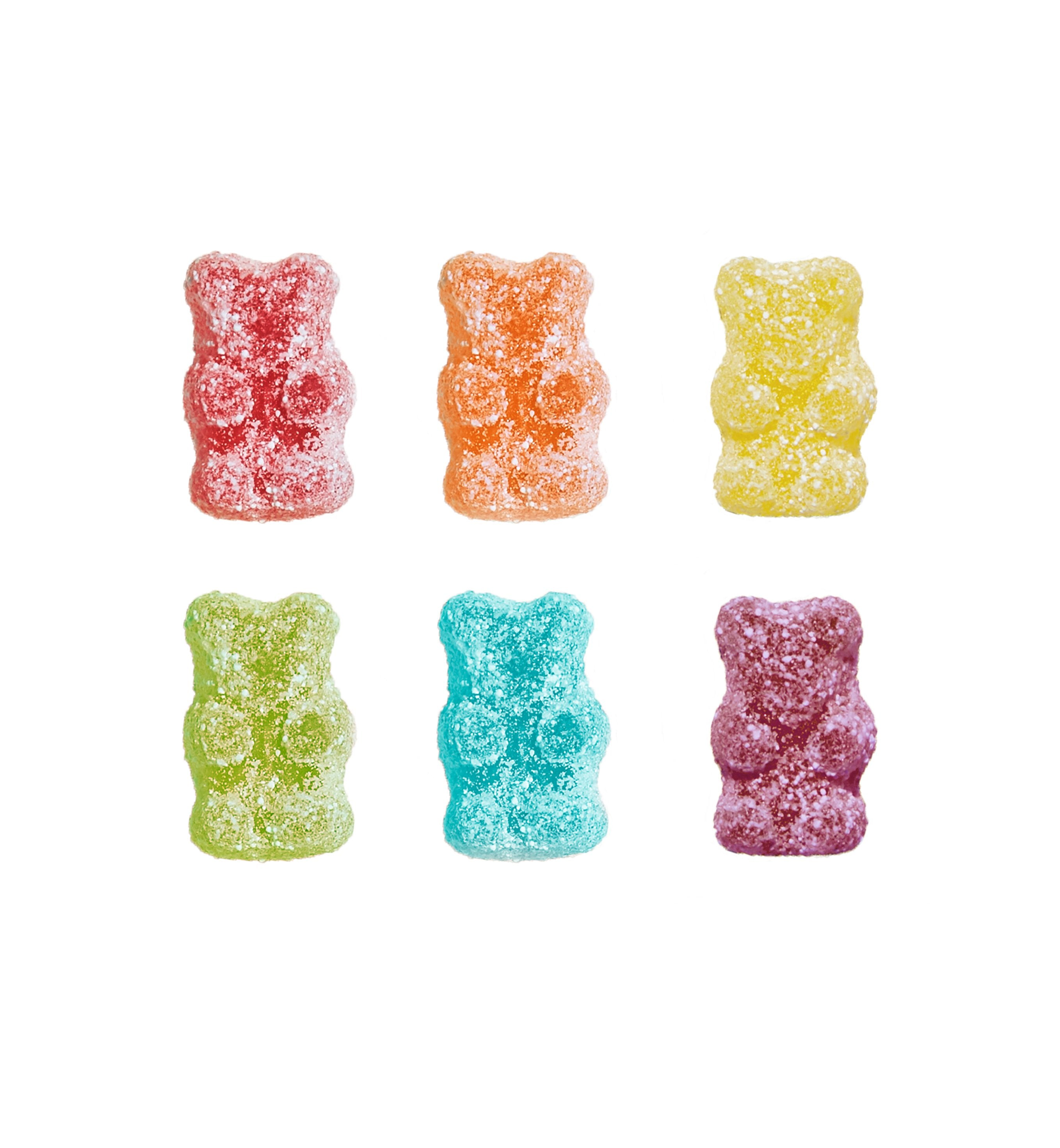 SQUISH Candies Vegan Sour Rainbow Bears