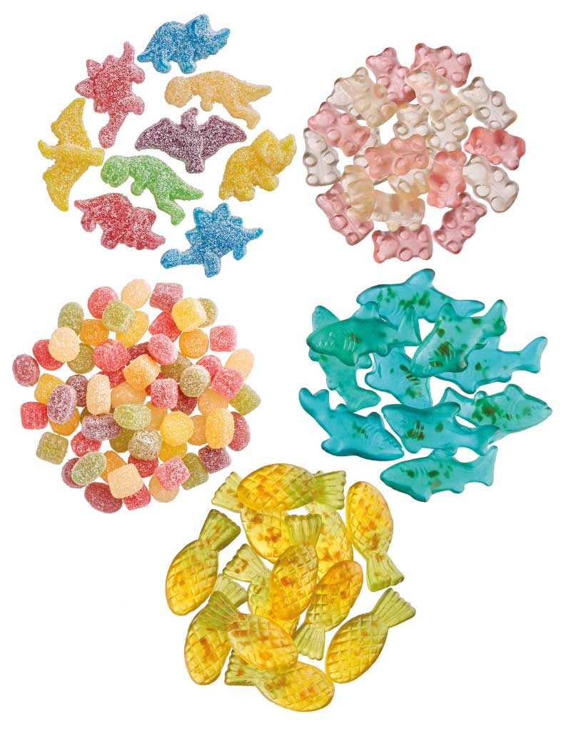 Bulk Box - Vegan Gummies 2.5 kg