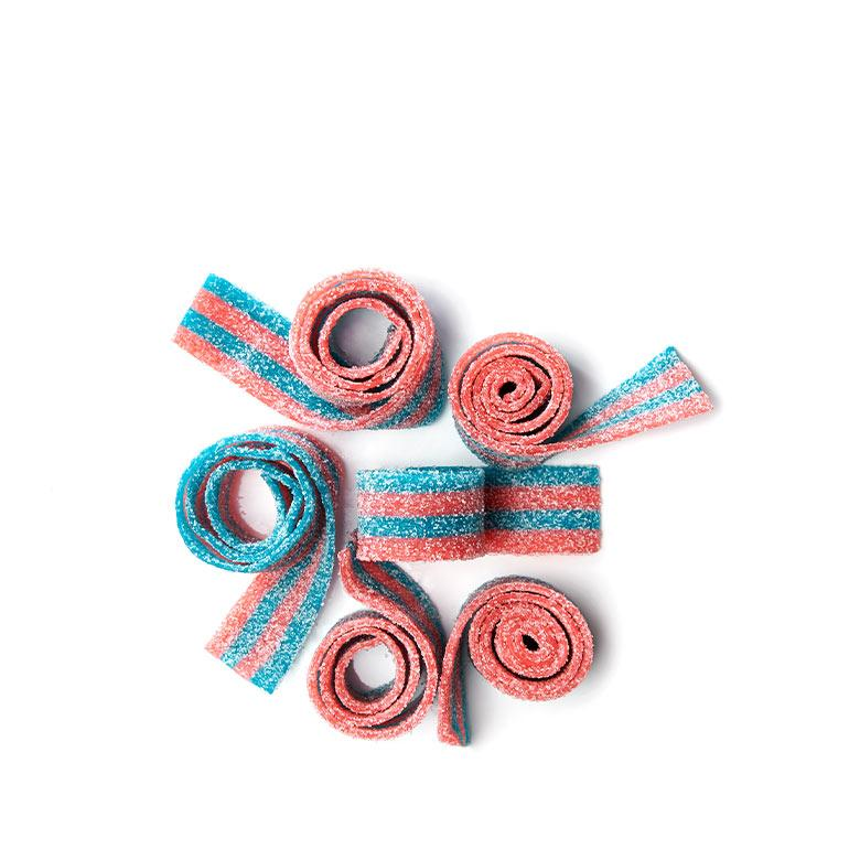 VEGAN Cotton Candy Belts