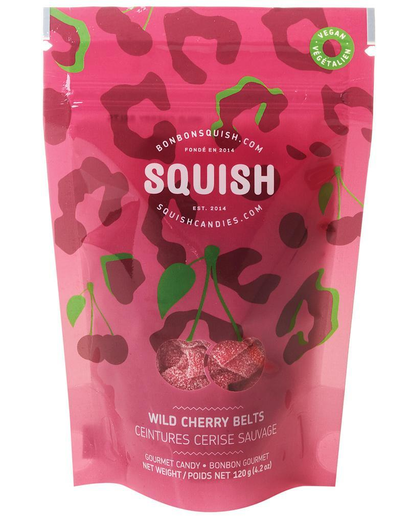 SQUISH Candies Vegan Wild Cherry Belts