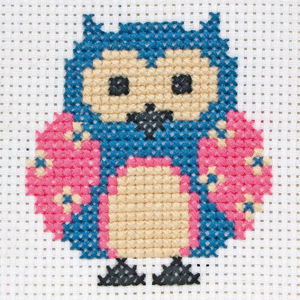 Counted Cross Stitch 1st Kit - Zoe Owl