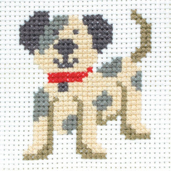 Counted Cross Stitch 1st Kit - Toby Dog