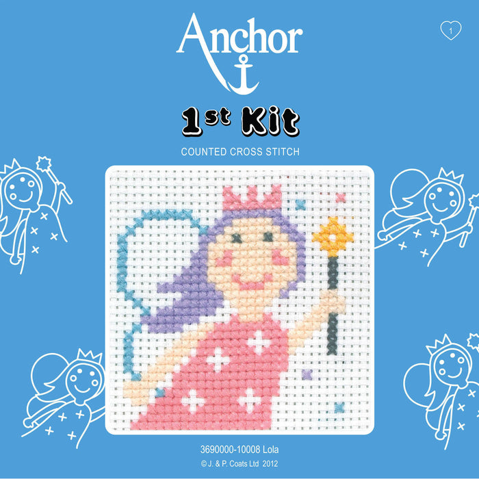 Counted Cross Stitch 1st Kit - Lola