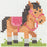 Counted Cross Stitch 1st Kit - Pony