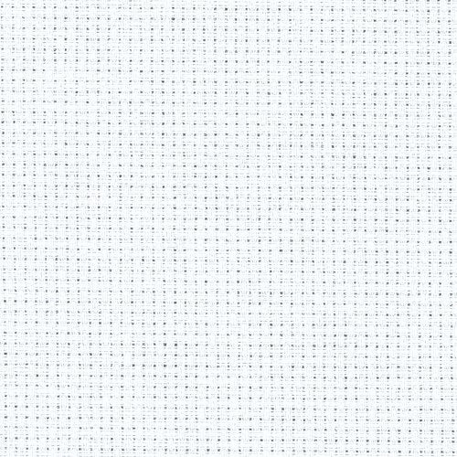 Zweigart 14ct Aida Fat Quarter - White
