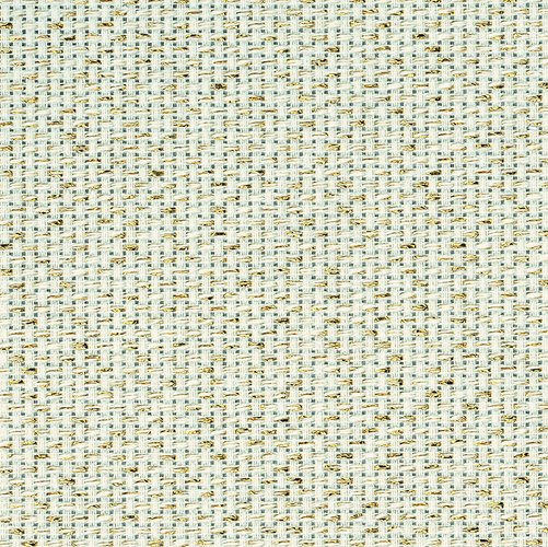 Zweigart 14ct Aida Fat Quarter - Gold Fleck