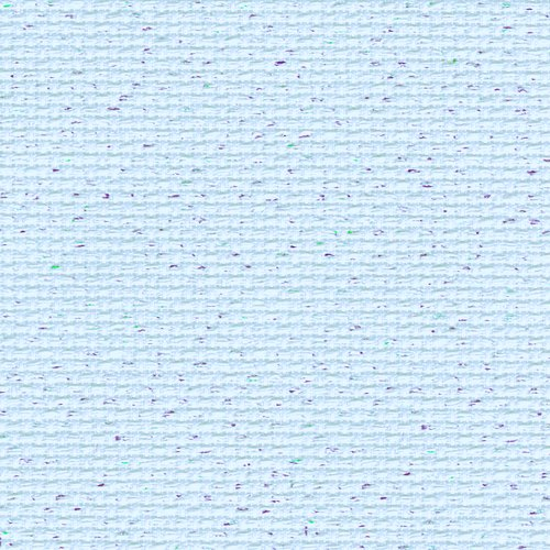 Zweigart 14ct Aida Fat Quarter - Pale Blue Fleck