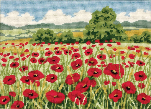 Anchor Tapestry - Poppy Field