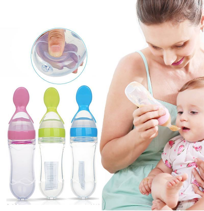 BABY SQUEEZE FEEDER BOTTLE